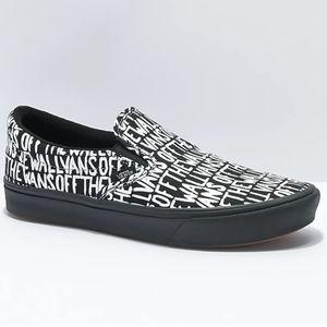 Vans Comfycush Slip-On Shoes Brush Womens Low Top